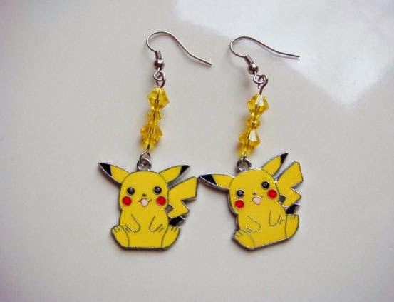 Pikachu Earrings