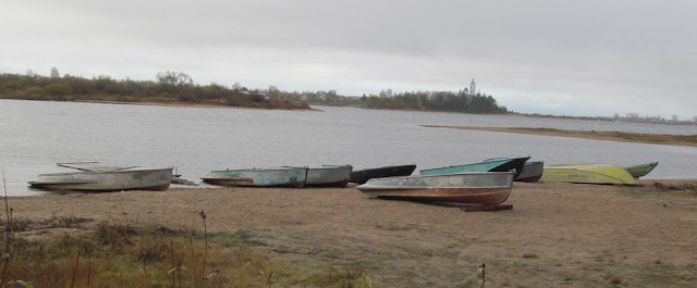 лодки на реке Кубена