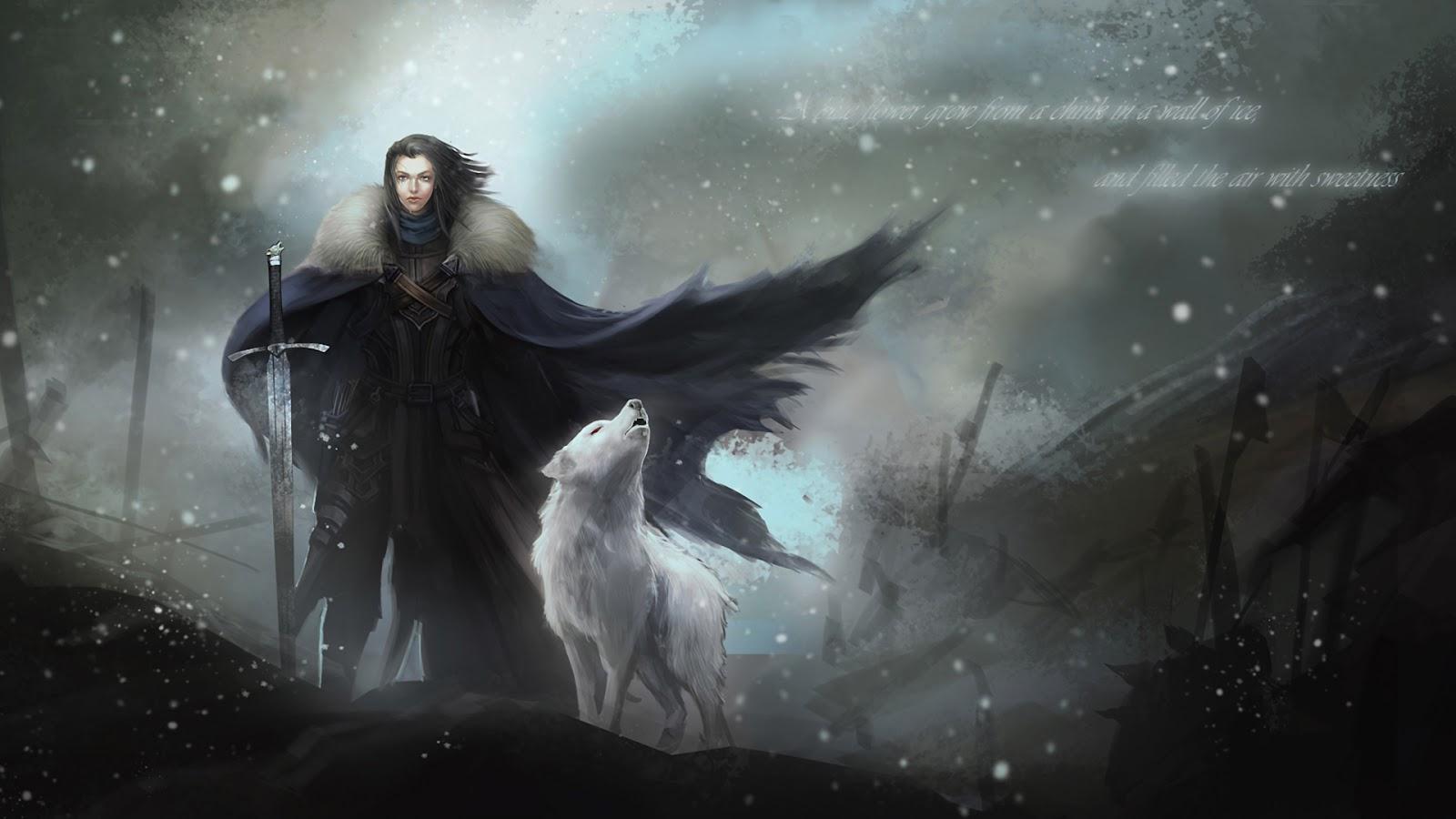 Jon Snow - Game Of Thrones HD