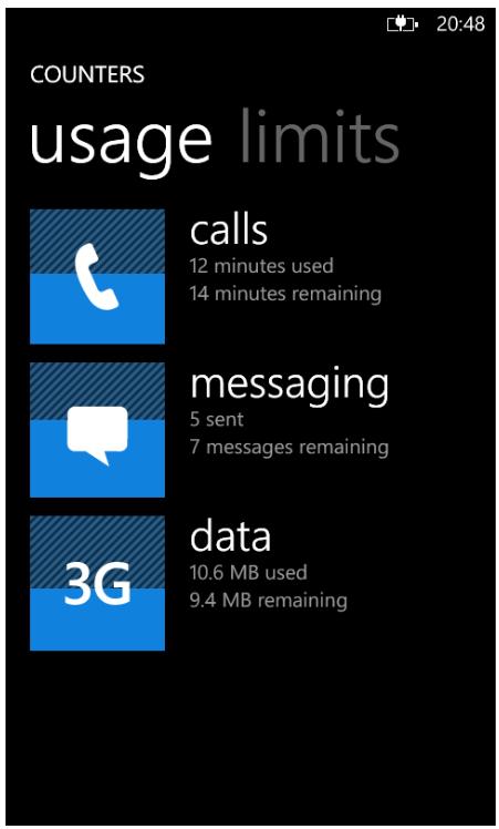 Nokia BetaLabs release Nokia Counters  Data Usage meter  app for Lumia