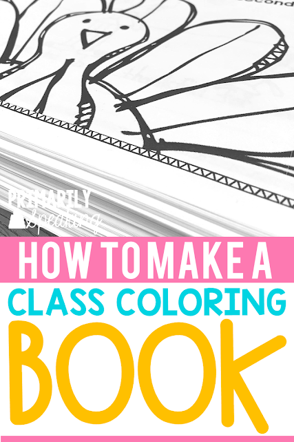 How to Make a Class Coloring Book