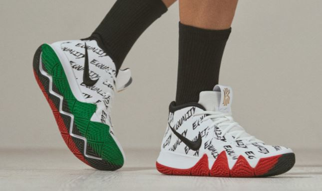 c7e1c29cb0b228 Here is a look at the Nike Kyrie 4 BHM  Equality  Sneaker Available Now  HERE at Villa and HERE at Nike. Championing equality beyond the game