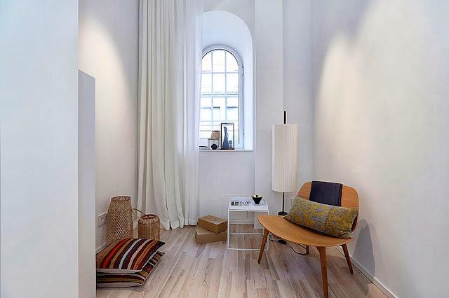 Kitnet ou quitinete decorada: vivendo em 10m². Blog Achados de Decoração