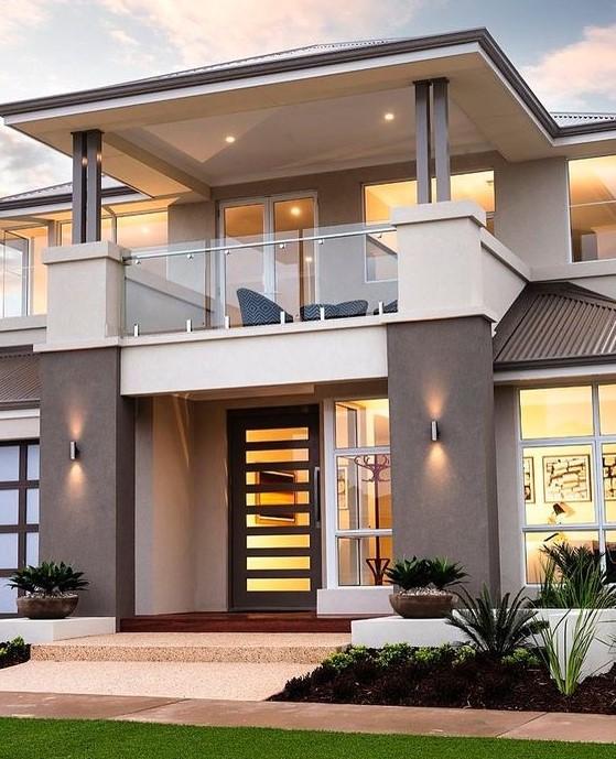 Model Rumah Jaman Sekarang : model, rumah, jaman, sekarang, Gambar, Rumah, Mewah, Jaman, Sekarang