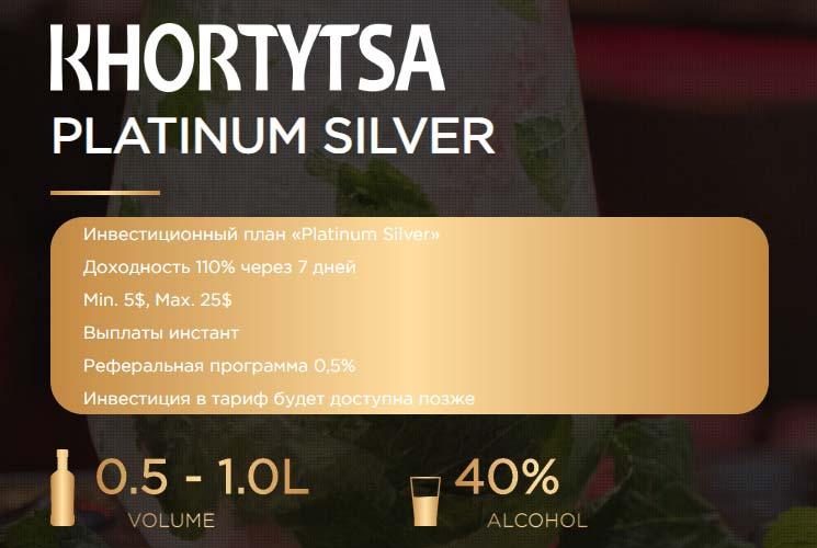 Инвестиционные планы Khortytsa Pro 4