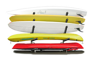 outdoor dock racks for kayaks
