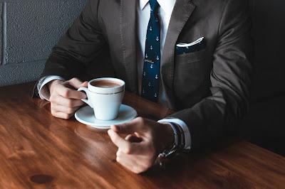 Café con un cliente