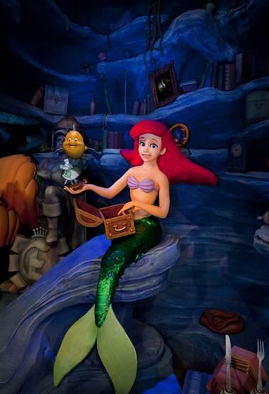 Nueva Atracción De La Sirenita En Disney California Adventure