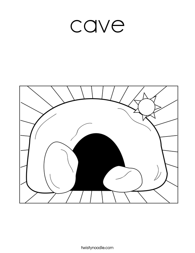 cave man cave coloring pages   Orthodoxy for Kids: October 2014
