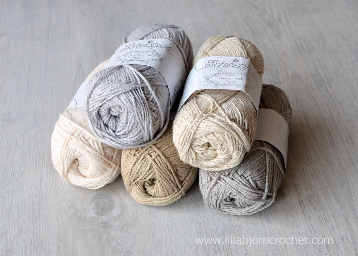 True Linen Yarn from the Netherlands | LillaBjörn's