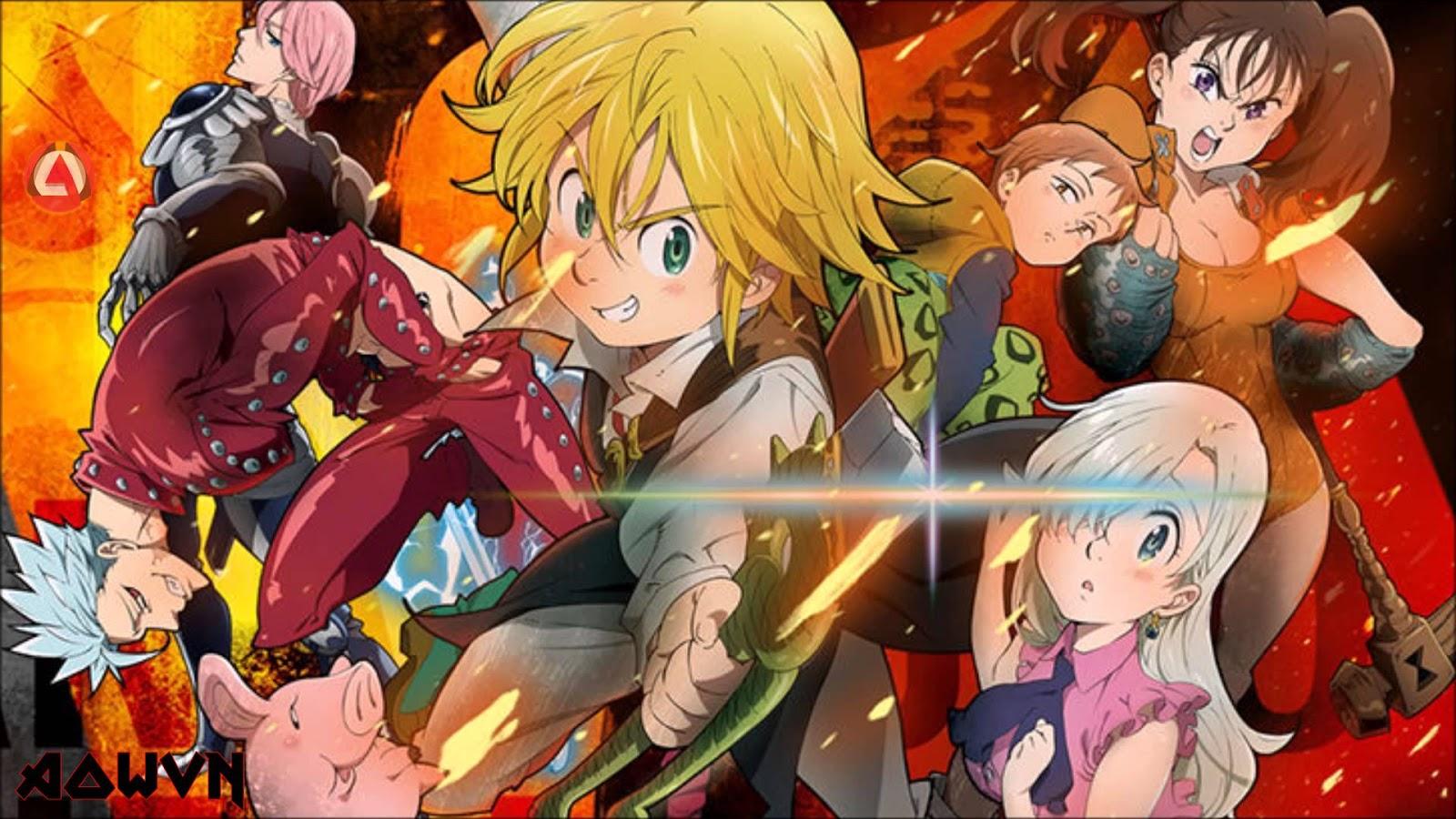 lUMwtPz - [ Anime 3gp Mp4 ] Nanatsu no Taizai SS1 + OVA + SP | Vietsub - Cực hay