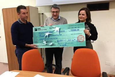 Landini vince causa contro la Saras e dona 25 mila euro