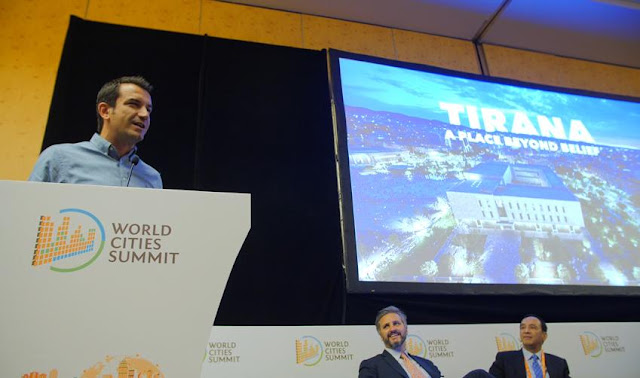 Transformation of Tirana rated in Singapore at World Cities Summit 2018