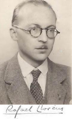 Rafael Lloréns y su firma