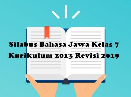 Silabus Bahasa Jawa Kelas 7 Kurikulum 2013 Revisi 2019