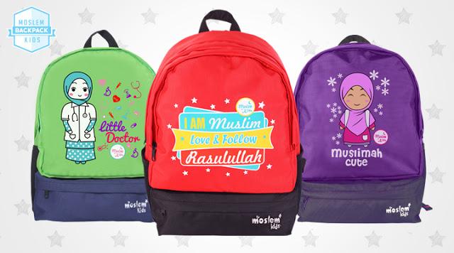 tas anak moslem kids