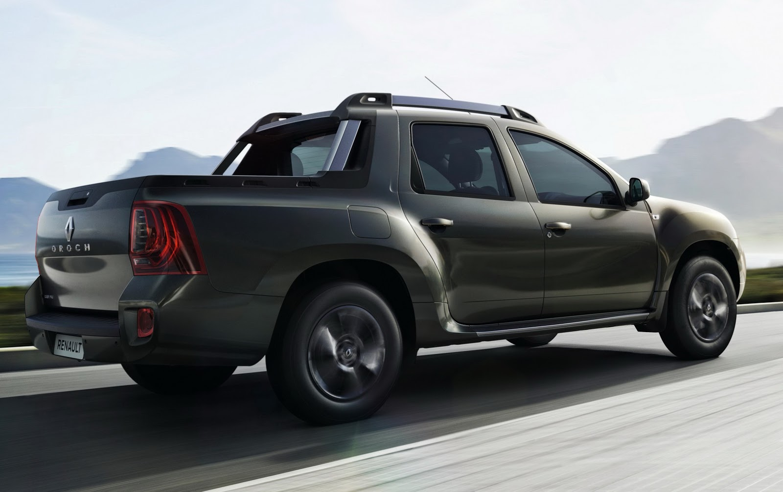This Is Renault's New Duster Oroch Small Pickup Truck ...