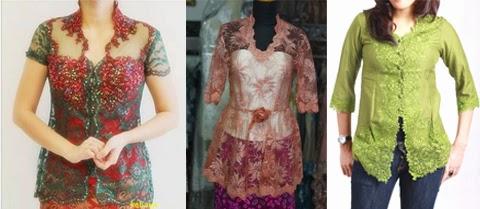 13 Gambar Model Baju Kebaya Gaun Untuk Orang Gemuk Terbaru