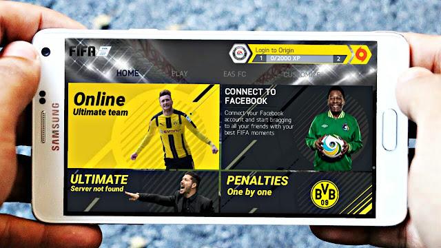 تحميل لعبة FIFA 14 مود FIFA 18 للاندرويد اوفلاين (بدون نت) جرافيكس خرافي