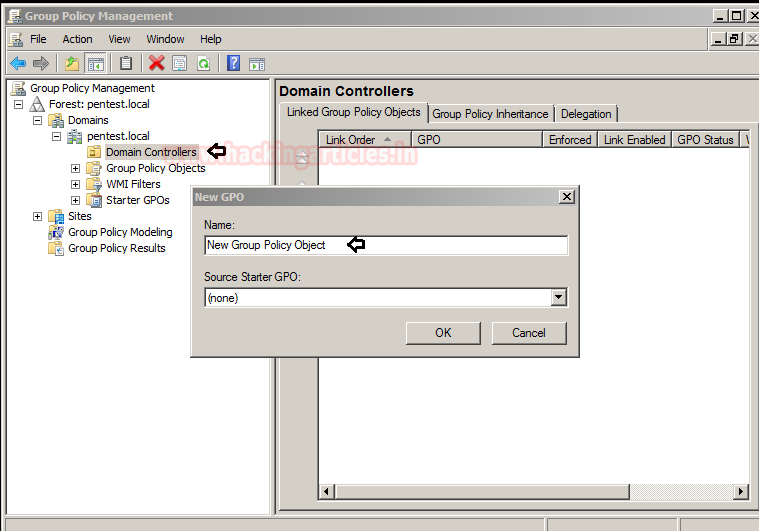 Penetration Testing on Group Policy Preferences