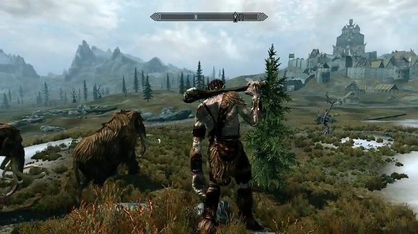 The Elder Scrolls V Skyrim Legendary Difficulty Gameplay 2