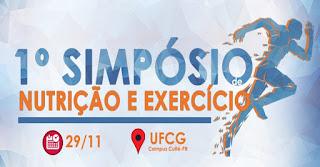 UFCG realiza I Simpósio de Nutrição e Exercício nesta quinta (29) em Cuité