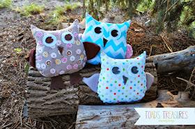 cute stuffed owl pattern