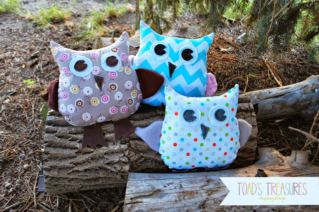 cute stuffed owl pattern