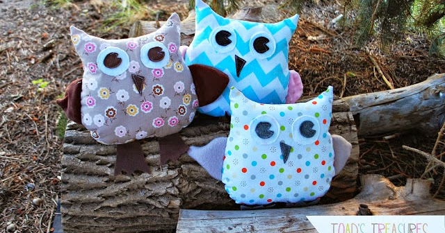 Toad S Treasures Easy Free Owl Pattern And Tutorial By