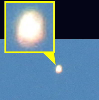 UFO Orb Filmed Over Loudoun County, Virginia 5-10-15