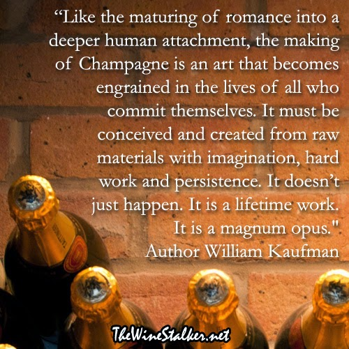 William Kaufman Champagne quote