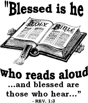 Read Scripture Aloud