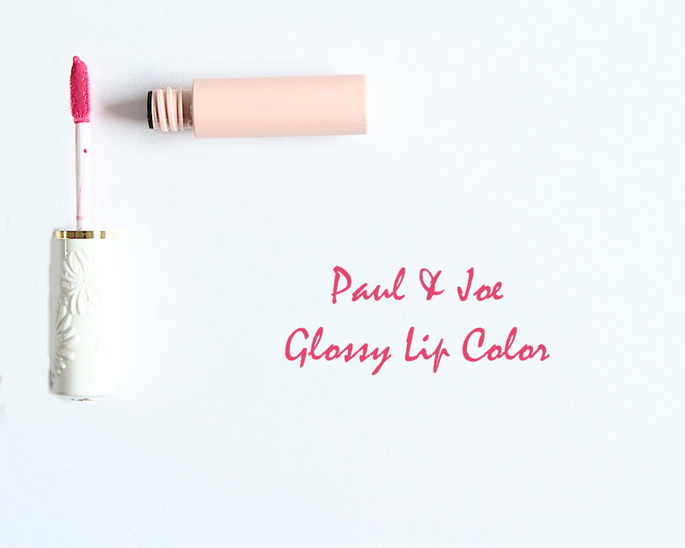 paul et joe glossy lip color gloss à lèvres avis test swatch