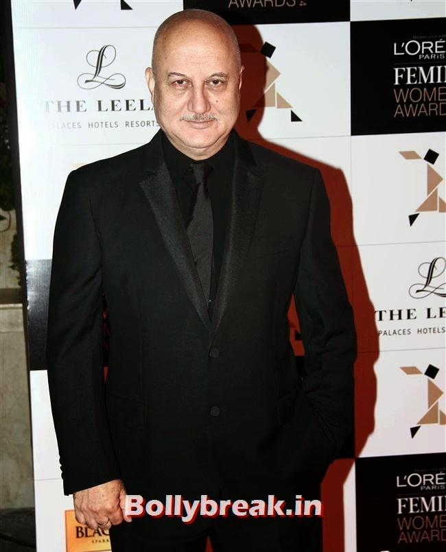 Anupam Kher, L`Oreal Paris Femina Women Awards 2014
