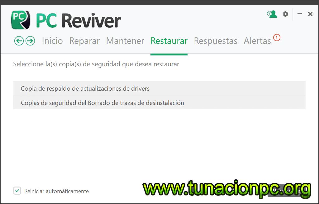 PC Reviver con Crack Español Imagen