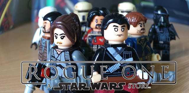 Rogue One lego fan art minifigures Star Wars