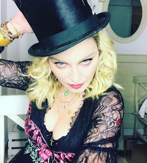 The pop queen Madonna celebrated her 59 in Italy