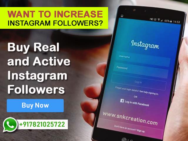 Buy Instagram Followers Delhi
