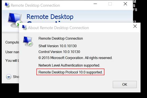 Rdp From Windows 10 To Windows 7