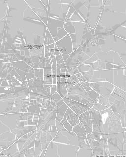 Mapa częstochowa