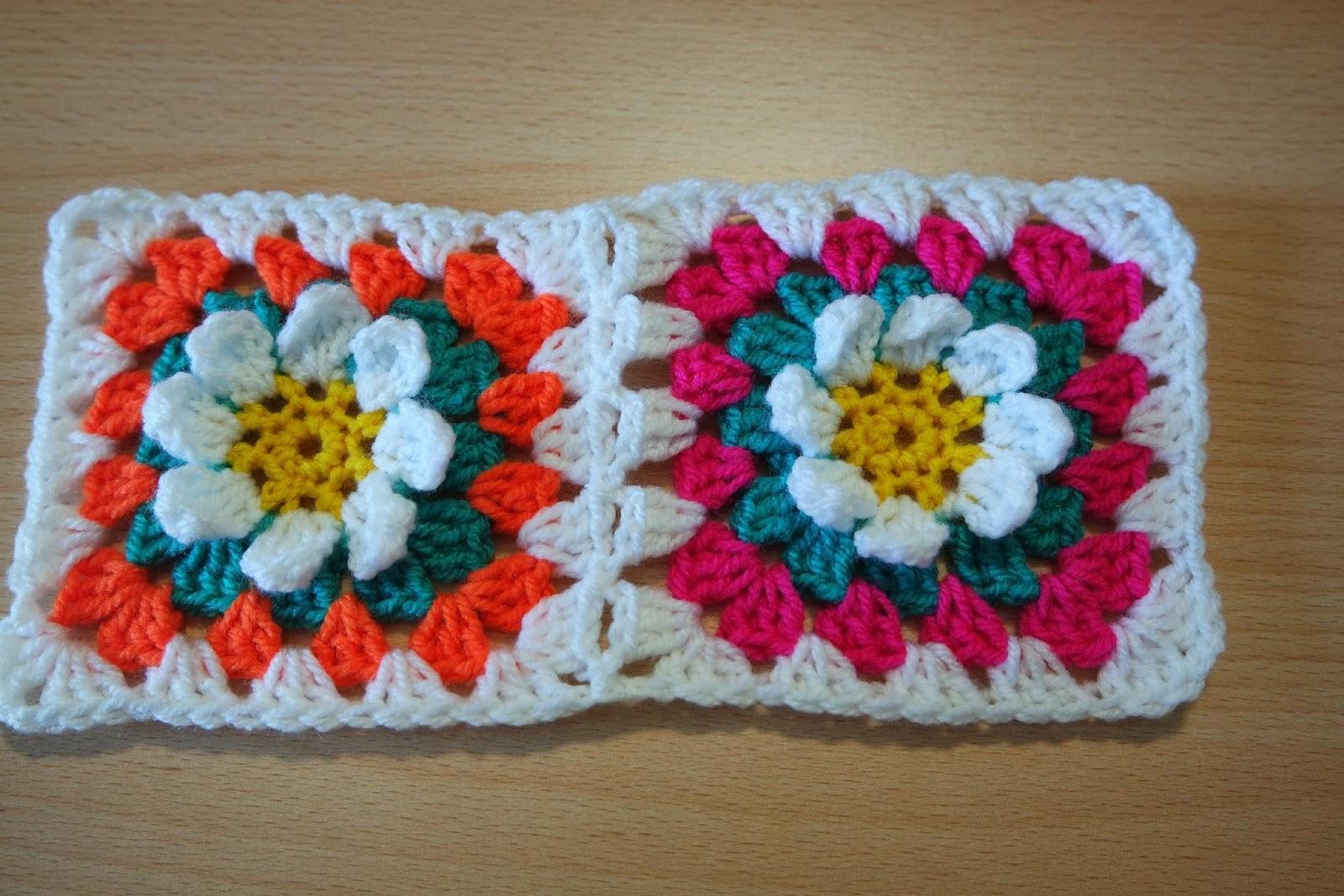 Crochet Flower Blanket Pattern Free : Free crochet patterns and video tutorials: Crochet pattern ...