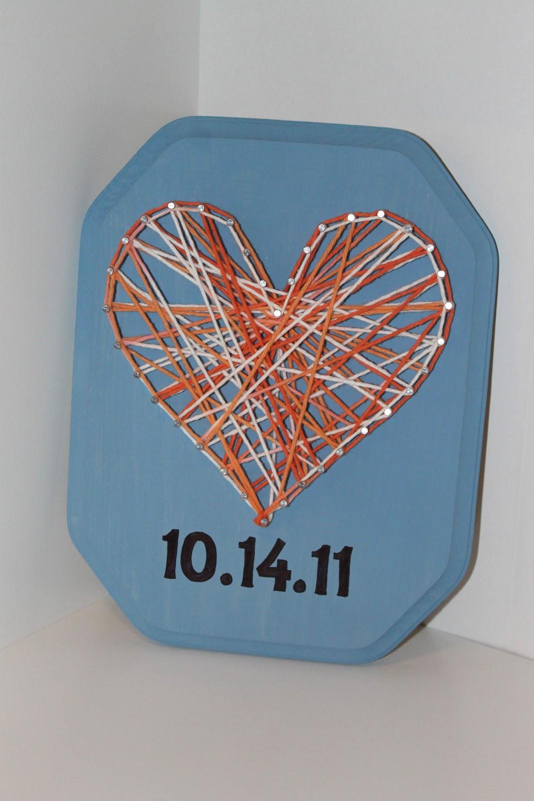 String Art Ideas For Anniversary