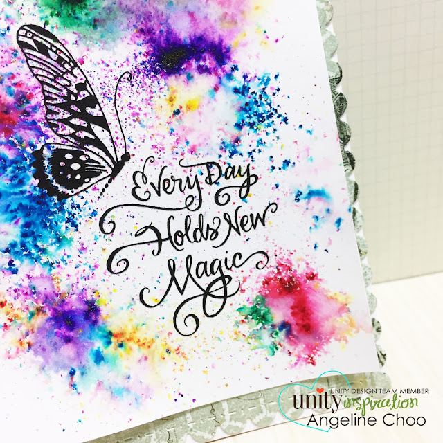 ScrappyScrappy: [NEW VIDEOS] Angie Girls, Roses and Magic with Unity Stamp #scrappyscrappy #unitystampco #card #cardmaking #magic #rainbow #papercraft #quicktipvideo #youtube #video #kenoliver #colorburst