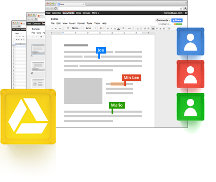 Google Drive takes you beyond storage, collaborate