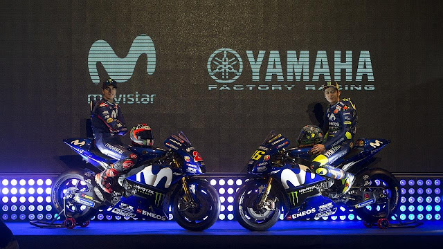 Yamaha MotoGP reveals revised livery for 2018
