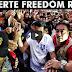 WATCH!  NAKAKAGULAT NA MGA PANGYAYARI SA DUTERTE FREEDOM RALLY