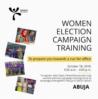 NGO To Train Women In Abuja On How To Win Elections October 18th