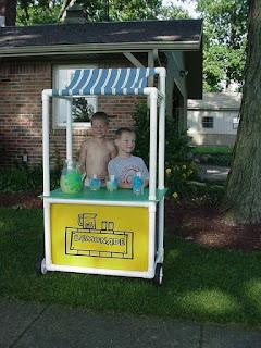 juego para niños carro de limonada