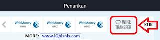 cara withdraw dana iq option langsung kebank lokal