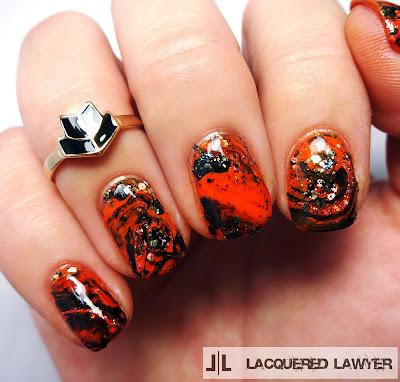 Haunting Halloween Nail Art